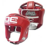 Boxerská přilba Danger Equipment COMPETITION - Červená
